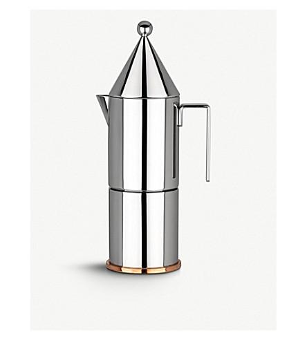 ALESSI La 尖顶微型浓缩咖啡咖啡制造商