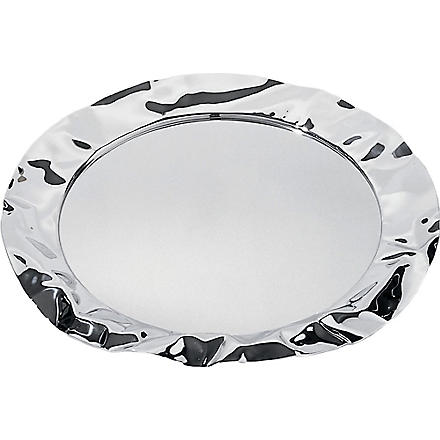 ALESSI Foix stainless steel round tray