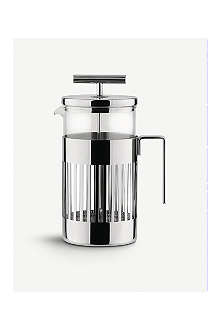ALESSI Three-cup press filter coffee maker