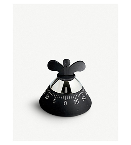 ALESSI Kitchen timer (Black