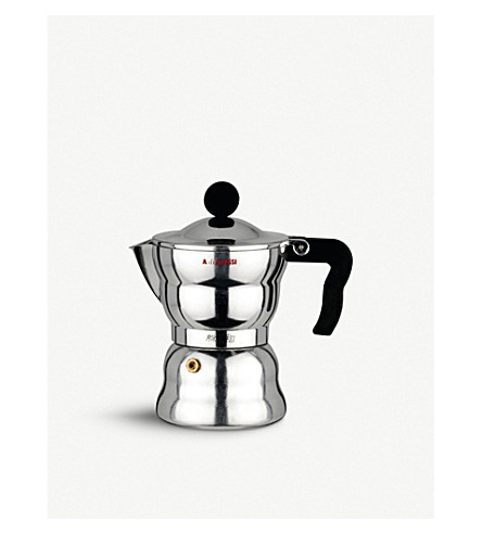 ALESSI Moka Alessi three-cup espresso coffee maker