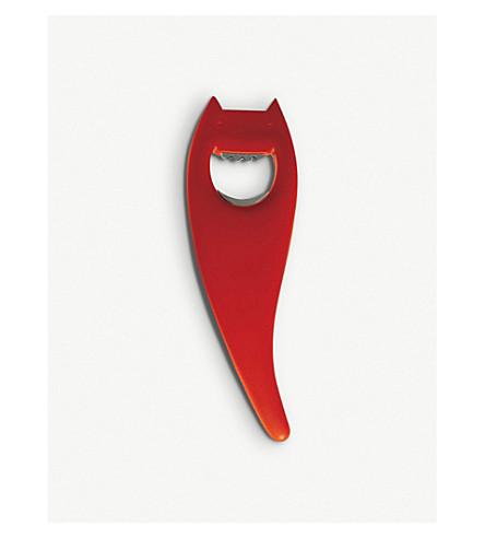 ALESSI Diabolix bottle opener (Red