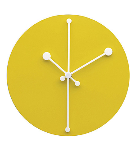 ALESSI Dotty steel wall clock (Nocolor