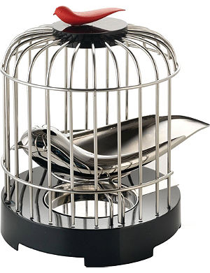 ALESSI Bird cage tea strainer