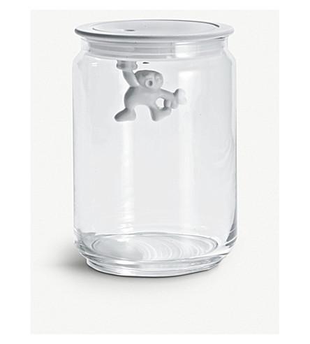 ALESSI 阿吉尼90cl 玻璃容器 (白色