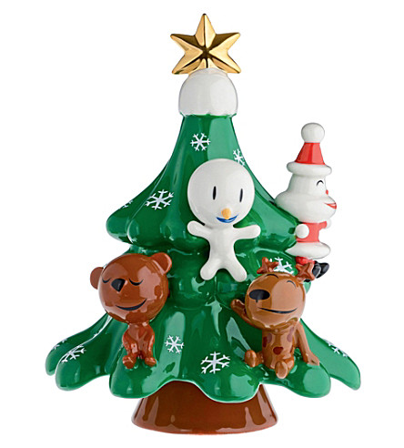 ALESSI Xmas friends christmas decoration (Nocolor
