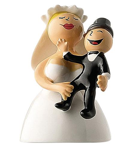 ALESSI Abbracciami amore mio wedding cake topper (Nocolor