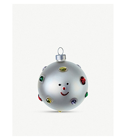ALESSI Set of 2 Christmas baubles (Nocolor