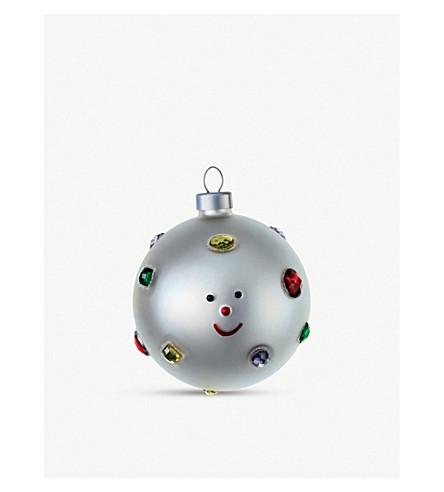 ALESSI Set of 2 Christmas baubles (Nocolor