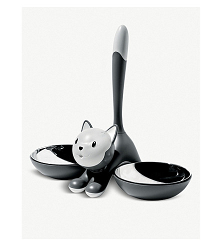 ALESSI Tigrito cat bowl (Grey