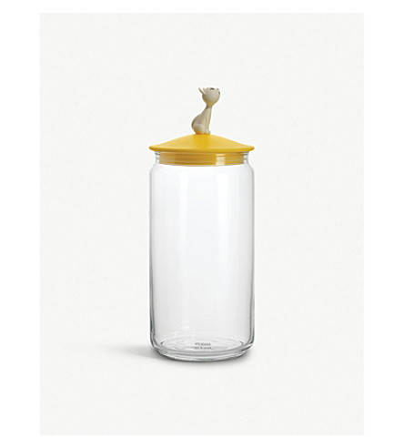 ALESSI Mio cat food jar (Nocolor