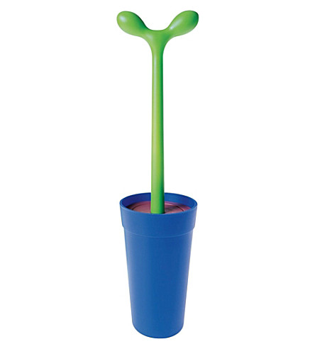 ALESSI Merdolino toilet brush (Azzurro