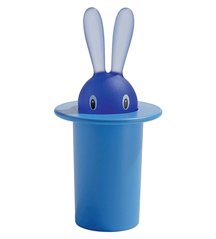 ALESSI 魔术兔牙签架 (Azzurro