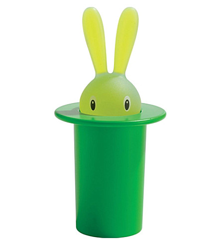 ALESSI Magic Bunny toothpick holder (Green