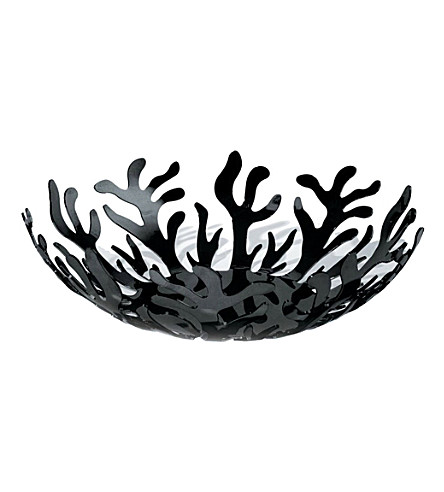 ALESSI Mediterraneo fruit holder (Black