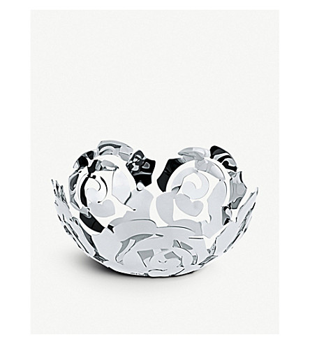 ALESSI La Rosa small fruit bowl