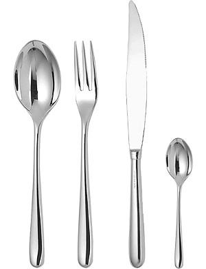ALESSI Caccia 24-piece cutlery set
