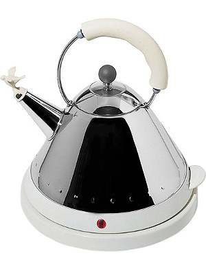 ALESSI Cordless electric kettle ivory