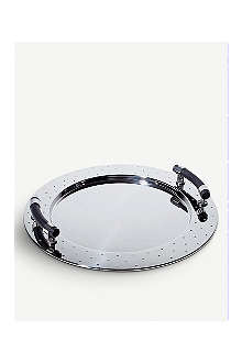 ALESSI Round tray with handles