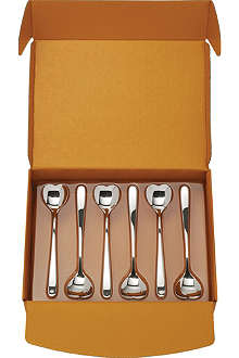 ALESSI Big Love spoons set of six