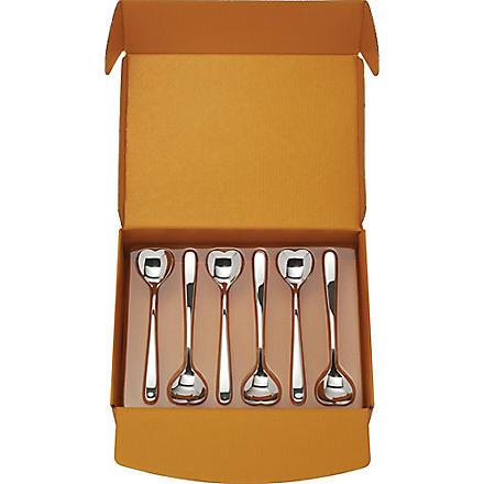 ALESSI Big Love spoons set of six