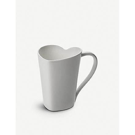 ALESSI TO heart-shaped mug
