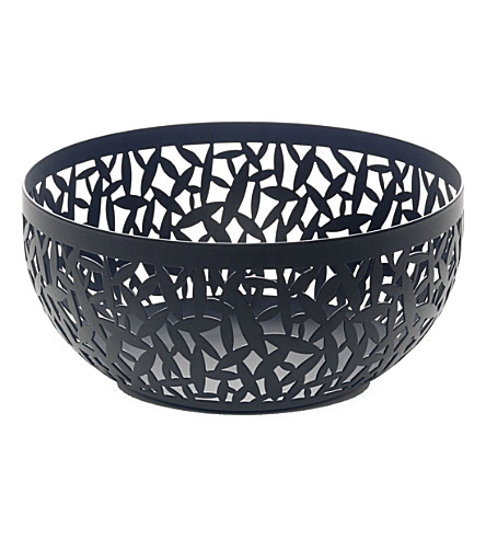 ALESSI Cactus! resin fruit bowl 21cm (Black