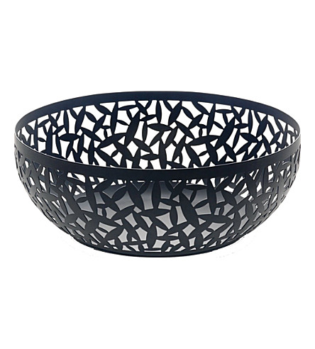 ALESSI Cactus! resin fruit bowl 29cm (Black