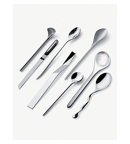 ALESSI Il Caffè/tè Alessi coffee spoons 8 set