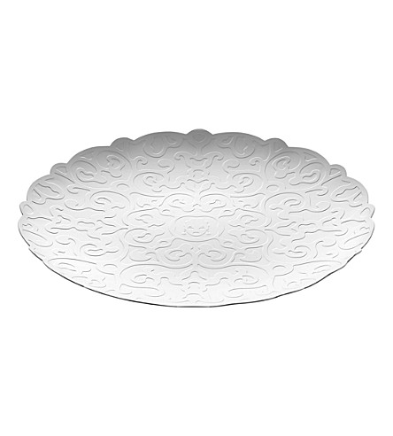ALESSI Dressed small stainless steel tray (Nocolor