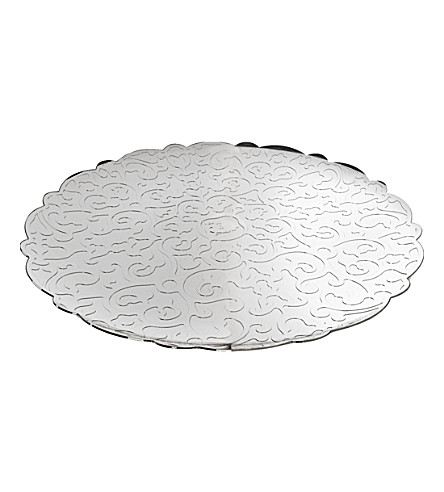 ALESSI Dressed round tray 35cm