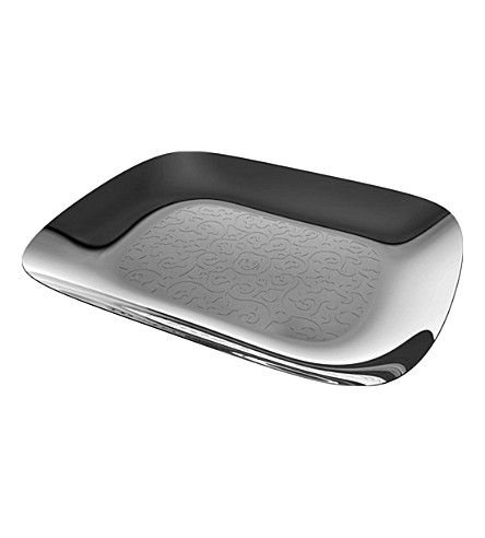 ALESSI Dressed rectangular tray 45cm