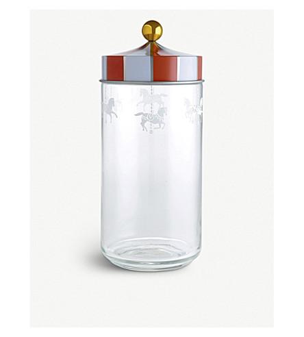 ALESSI Circus glass jar 25cm (Nocolor