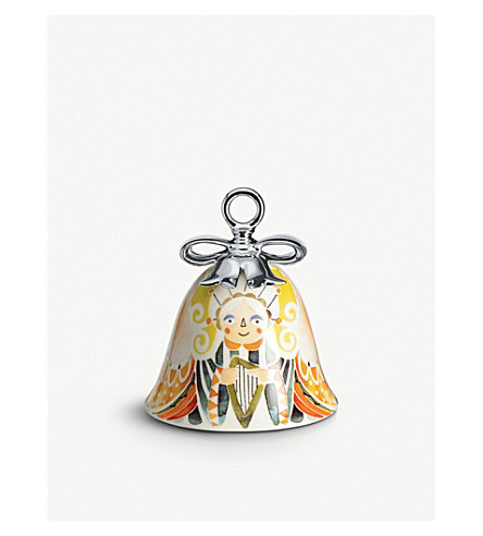 ALESSI Holy family angel ceramic christmas ornament (Nocolor