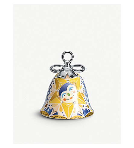 ALESSI Holy family star ceramic christmas ornament (Nocolor