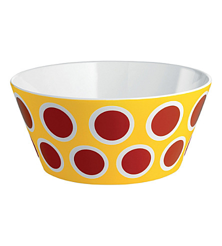 ALESSI Circus bone china bowl (Nocolor