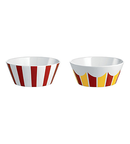 ALESSI Circus set of two small bowls (Nocolor