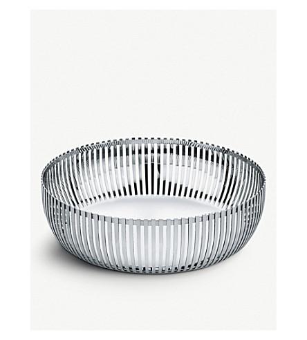 ALESSI 圆形不锈钢篮23厘米