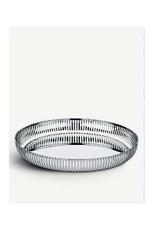 ALESSI Stainless steel tray 32cm
