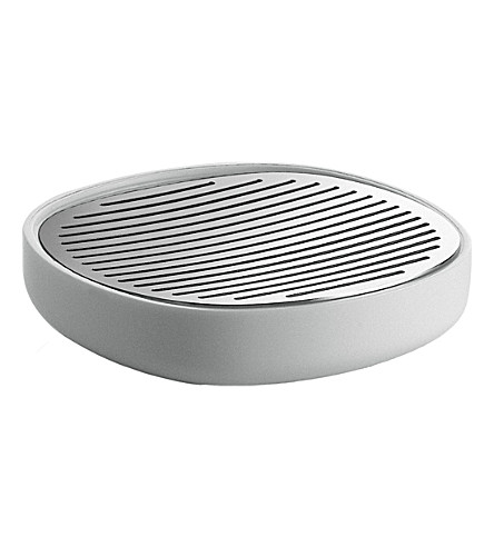 ALESSI Birillo soap dish (White