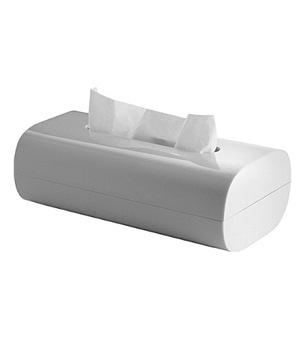 ALESSI Birillo tissue box (White