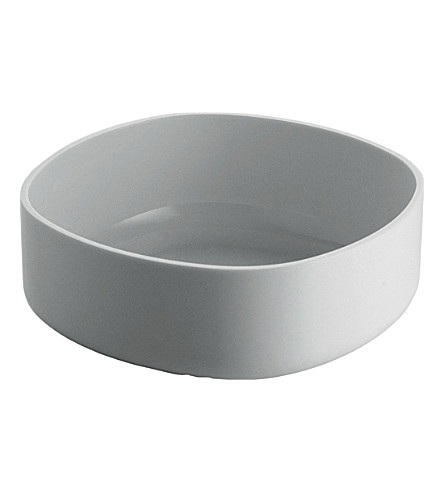 ALESSI Bathroom container (White