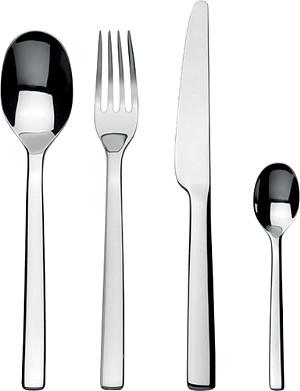 ALESSI Ovale 24 piece cutlery set
