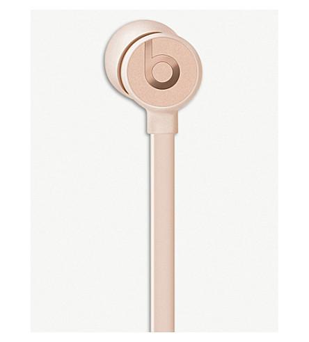 BEATS BY DRE urBeats3 Lightning In-Ear Headphones (Matte+gold