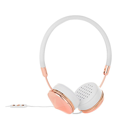 FRENDS Layla Rose Gold on-ear headphones