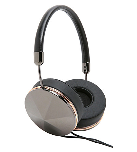 FRENDS Taylor Gun Metal on-ear headphones