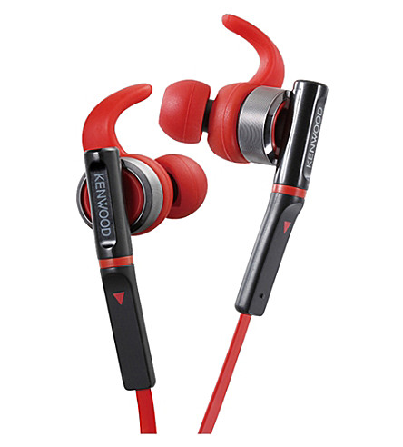 KENWOOD Sr800 运动入耳式耳机 (红色
