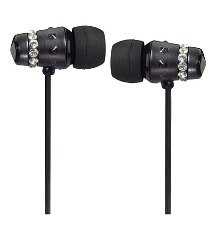 MAROO Ice Collection Midnight in-ear headphones