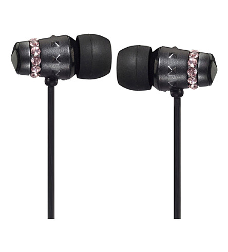MAROO Ice Collection Midnight Rose in-ear headphones