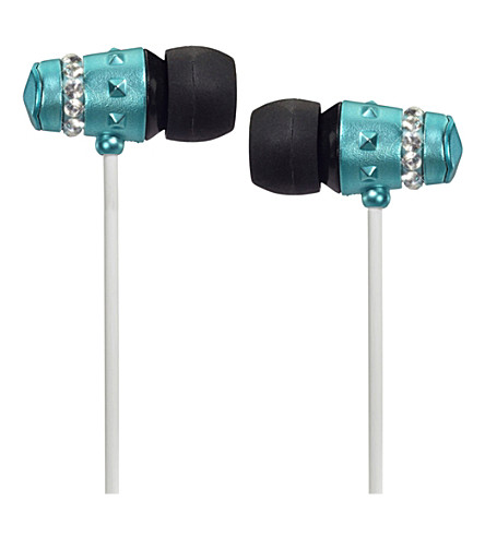MAROO Ice Collection Turquoise in-ear headphones